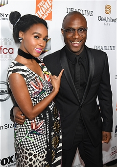 ctress:singer Janelle Monae and Barry Jenkins