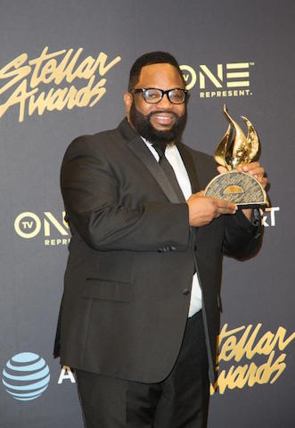Hezekiah Walker with Stellar Award