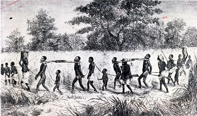 Slavery illustration