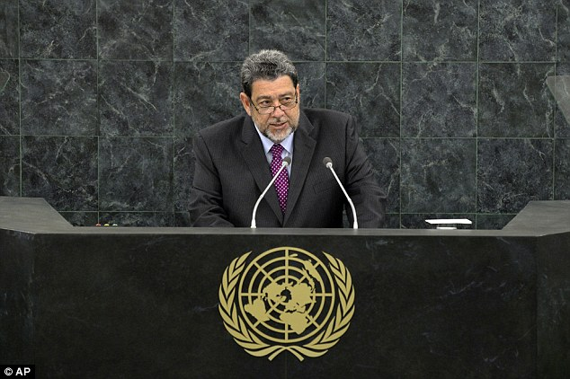 Prime Minister of Saint Vincent and the Grenadines, Ralph Gonsalves, said European nations must pay for the slave trade