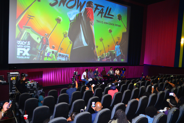 Snowfall screening