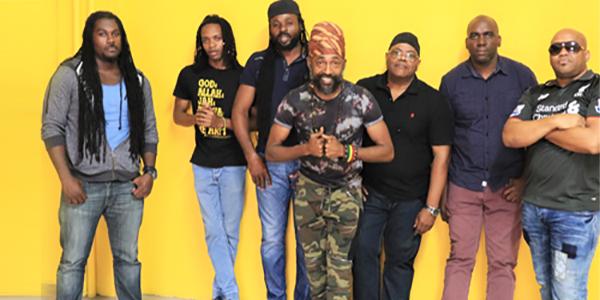 Lutan Fyah with Riddim Rebels band