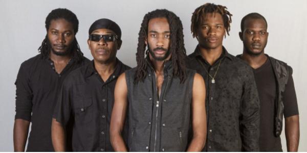 Left to right: Anthony 'ToniDrumz' Watson – Drums; Courtland 'Gizmo' White – Lead Guitar; Delroy 'Pele' Hamilton – Bass; Kumar 'Kumz' Bent – Guitar/Lead Vocal; and Demar 'Demz' Gayle – Keyboards.