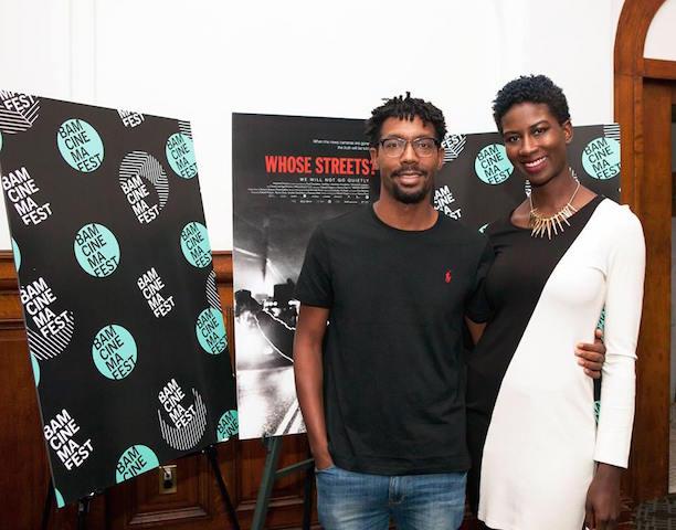 Damon Davis (Co-Director) and Sabaah Folayan (Writer:Director)
