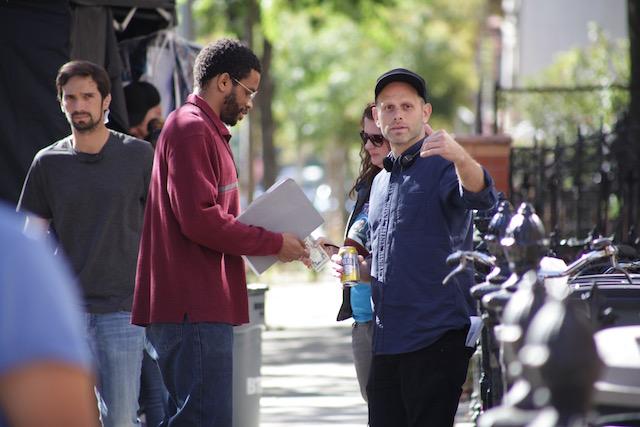 L- r Crown Heights producer and star Nnamdi Asomugha and director Matt Ruskin