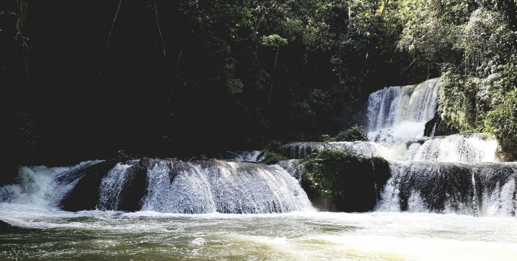 YS falls - A popular Jamaican attraction