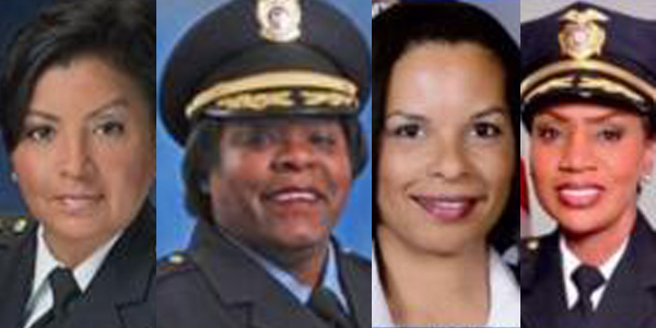 L to R: Gina Hawkins, Casandra Deck-Brown, Patrice Andrews and Cerelyn Davis