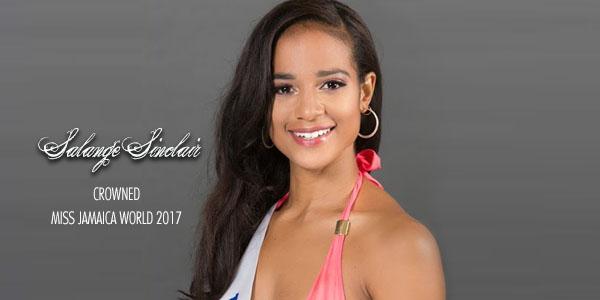 Falange Sinclair crowned Miss Jamaica 2017