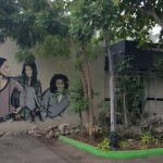 A mural of the Marley Kids