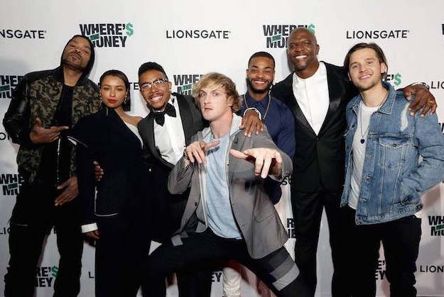 Cast of Where's The Money at the movie premiere - photo by Steve Cohn