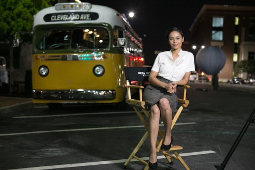 Meta Golding will play Rosa Parks -  Photo Credit: TV One