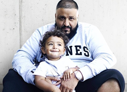 DJ Khaled and his son, Asahd.