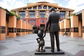 Disney headquaters in Burbank
