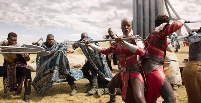 A scene from Marvel's Black Panther