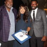 AAFCA co-founder Gil Robertson, Channing Dungey and Shawn Edwards
