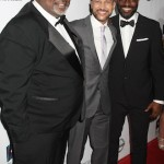 AAFCA co-founder Gil Robertson, Keegan-Michael Key and AAFCA co-founder Shawn Edwards