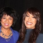 Cheryl Boone Isaacs and ABC Entertainment Group President Channing Dungey