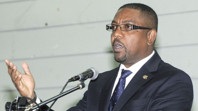 Dave Cameron speaks at a WICB townhall meeting WICB Media:Brooks LaTouche Photography Ltd