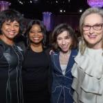Former Academy President Cheryl Boone Isaacs, Octavia Spencer, Sally Hawkins and Meryl Streep