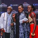 John Kani, Connie Chiume and Lupita Nyong'o