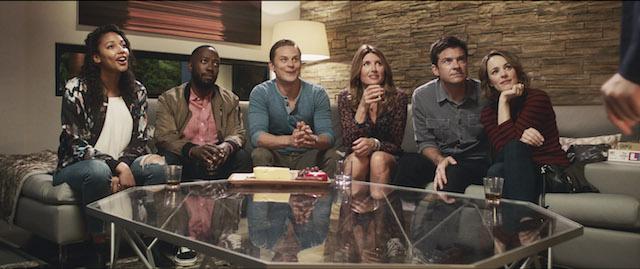 KYLIE BUNBURY as Michelle, LAMORNE MORRIS as Kevin, BILLY MAGNUSSEN as Ryan, SHARON HORGAN as Sarah, JASON BATEMAN as Max and RACHEL McADAMS as Annie