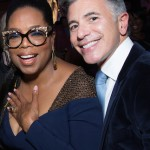 Oprah Winfrey and Ricky Strauss