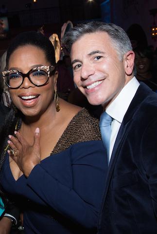 Oprah Winfrey and Ricky Strauss