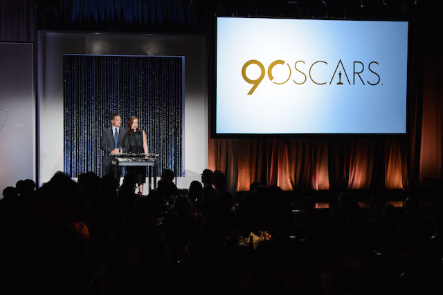 90th Oscars, Nominees Luncheon