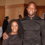 Samantha Ofole-Prince and director Qasim Basir