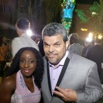 Samantha Ofole-Prince and Luis Guzmán