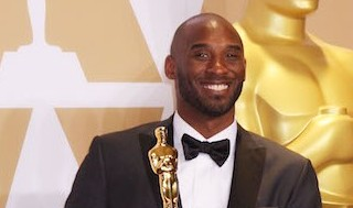 Kobe Bryant won his first Oscar for the animated short Dear Basketball - Photo by Royalty Images