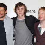 Bart Layton (Writer, Director), Evan Peters and Barry Keoghan