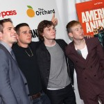 Blake Jenner, Jared Abrahamson, Evan Peters and Barry Keoghan