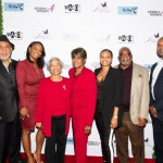 L to R) Fred Calloway, Ashley Calloway, Beverly Bell, Jeanie Calloway, Clarence Hines and Anthony Calloway