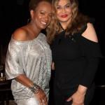 Vanessa Bell Calloway and Tina Knowles