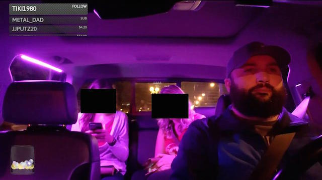 Uber driver records without consent