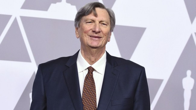 John Bailey arrives at the 90th Academy Awards nominees luncheon at the Beverly Hilton Hotel. (Jordan Strauss : Invision : Associated Press)