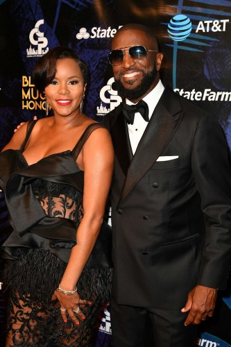 Rickey Smiley and singer:actress LeToya Luckett