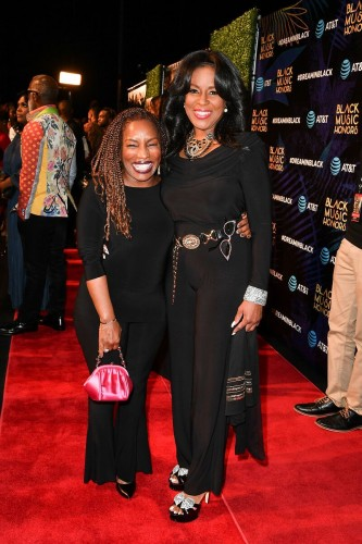 Stephanie Mills and Angela Winbush.