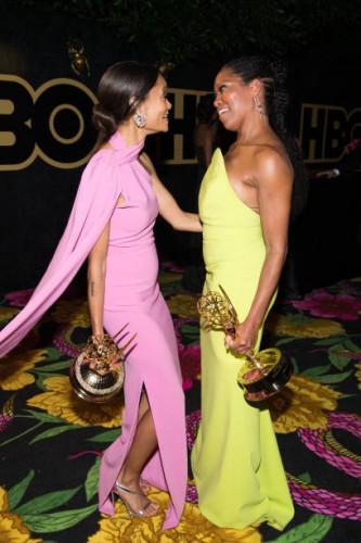 Emmy winners Thandie and Regina
