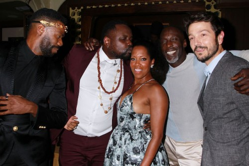 Colman Domingo, Brian Tyree Henry, Regina King, Michael K. Williams, Diego Luna
