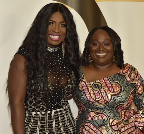 Actress Jennifer Oguzie and Koshie Mills