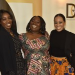 L-R Estelle, Koshie Mills and  Dawn-Lyen Gardner