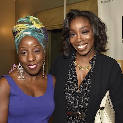 Caribpress' Entertainment Editor Samantha and Estelle