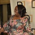 Samantha talks with Koshie Mills
