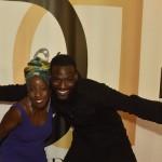 me and Kofi Sariboe