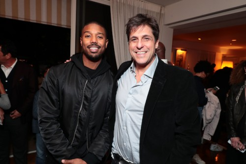 Michael B. Jordan and Jonathan Glickman - President, Motion Picture Group, Metro Goldwyn Mayer