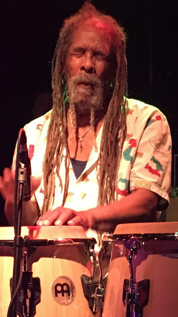 Larry McDonald performing at the Dub Club (Los Angeles, California) | Courtesy of Stephen A. Cooper
