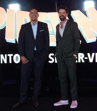 Directors (l-r) Peter Ramsey and Bob Persichetti