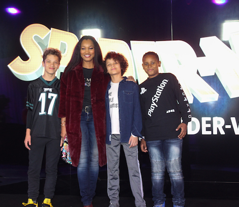 Garcelle Beauvais and family